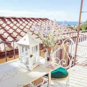 Terrazza vista mare, appartamento Cook - GH Lazzerini Holidays, San Vincenzo, Toscana