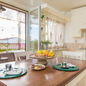Sala da pranzo in stile classico, con terrazza - GH Lazzerini Holidays, Toscana