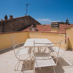 Terrazza Palazzo degli Archi con veduta sul centro di San Vincenzo - GH Lazzerini Holidays, San Vincenzo, Toscana