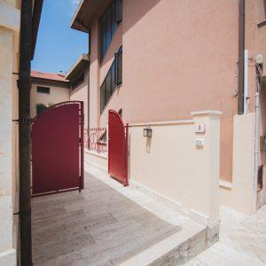 Ingresso Palazzo degli Archi - GH Lazzerini Holidays, San Vincenzo, Toscana