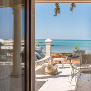 Private Terrasse am Strand von San Vincenzo - Villa Galatea, GH Lazzerini Holidays