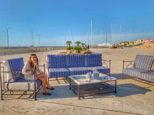 I complementi di arredo esposti da Garden House Lazzerini - DNA EXPERIENCE 2019, San Vincenzo - GH Lazzerini partner della manifestazione
