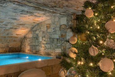 Natale al mare. Villa Galatea diventa un luogo magico nel periodo natalizio.